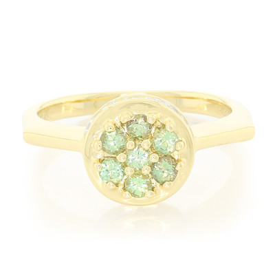 18K Brazilian Alexandrite Gold Ring