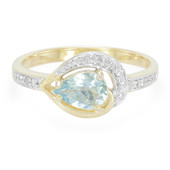 9K Santa Teresa Aquamarine Gold Ring