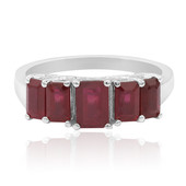 Madagascar Ruby Silver Ring