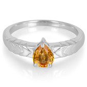 Spessartite Silver Ring