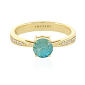 18K Ratanakiri Zircon Gold Ring