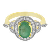 Emerald Silver Ring (Cavill)
