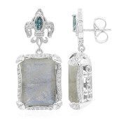 Labradorite Silver Earrings (Dallas Prince Designs)