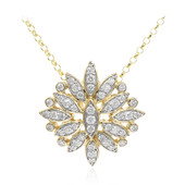 18K FL Diamond Gold Necklace (LUCENT DIAMONDS)