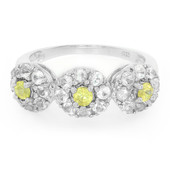 Sphene Silver Ring