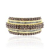 14K SI2 Brown Diamond Gold Ring (CIRARI)