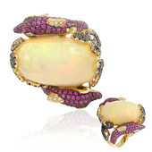18K Welo Opal Gold Ring