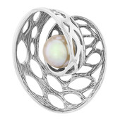 Ming Pearl Silver Pendant (MONOSONO COLLECTION)