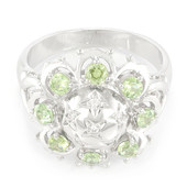 Namibian Demantoid Silver Ring