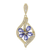 9K Tanzanite Gold Pendant (Adela Gold)