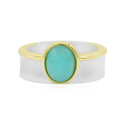 Amazonite Silver Ring (MONOSONO COLLECTION)