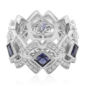 Iolite Silver Ring (Dallas Prince Designs)