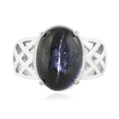 Indian star diopside Silver Ring