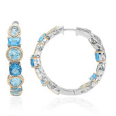 Sky Blue Topaz Silver Earrings (Dallas Prince Designs)