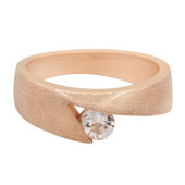 Morganite Silver Ring (Cavill)