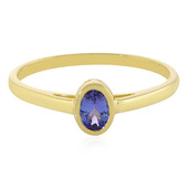 9K AAA Tanzanite Gold Ring