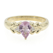 9K Pink Cuprian Tourmaline Gold Ring