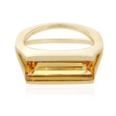 14K Yellow Beryl Gold Ring (de Melo)