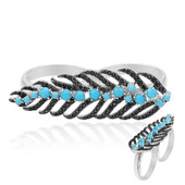 Turquoise Silver Ring (Dallas Prince Designs)