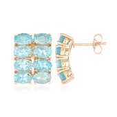 Apatite Silver Earrings