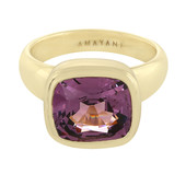 18K Burmese Spinel Gold Ring