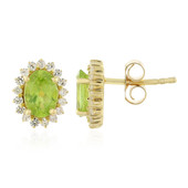 Manchurian Peridot Silver Earrings