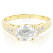 9K Zircon Gold Ring