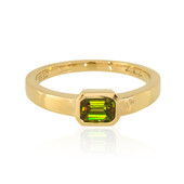 14K Chrome Sphene Gold Ring (de Melo)