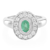 9K Socoto Emerald Gold Ring