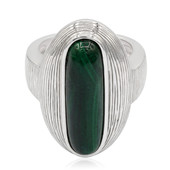 Malachite Silver Ring (MONOSONO COLLECTION)