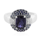 9K Iolite Gold Ring