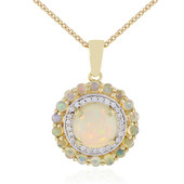 9K Welo Opal Gold Necklace