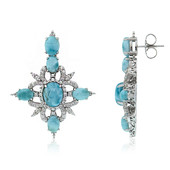Larimar Silver Earrings (Dallas Prince Designs)