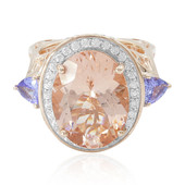 9K Morganite Gold Ring (Dallas Prince Designs)