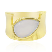 Chalcedony Silver Ring (MONOSONO COLLECTION)