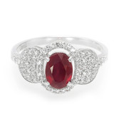 Madagascar Ruby Silver Ring (Cavill)