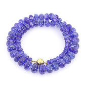 18K AAA Tanzanite Gold Necklace