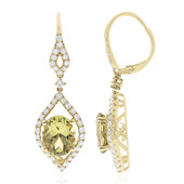 14K Colour Change Diaspore Gold Earrings (CIRARI)