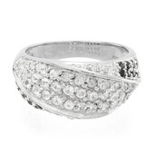White Sapphire Silver Ring