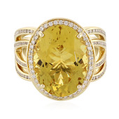 14K Golden Beryl Gold Ring (de Melo)