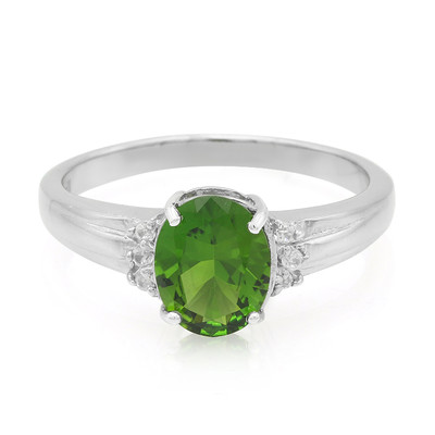 Russian Diopside Silver Ring (Cavill)