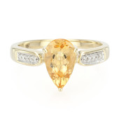 14K AAA Imperial Topaz Gold Ring (Lance Fischer)