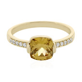 9K Vibhor Zircon Gold Ring
