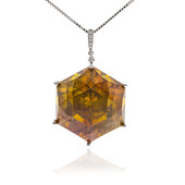 14K Sphalerite Gold Necklace (CIRARI)
