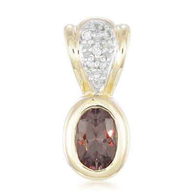 9K Madagascan Colour Change Garnet Gold Pendant