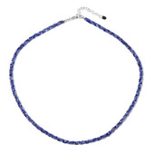 Sodalite Silver Necklace
