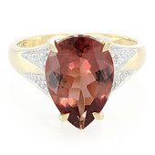 14K AAA Red Apatite Gold Ring (Lance Fischer)