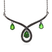 Russian Diopside Silver Necklace (Memories by Vincent)