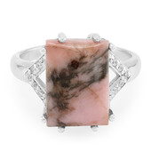 Rhodonite Silver Ring