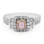 18K Pink Diamond Gold Ring (AMAYANI)